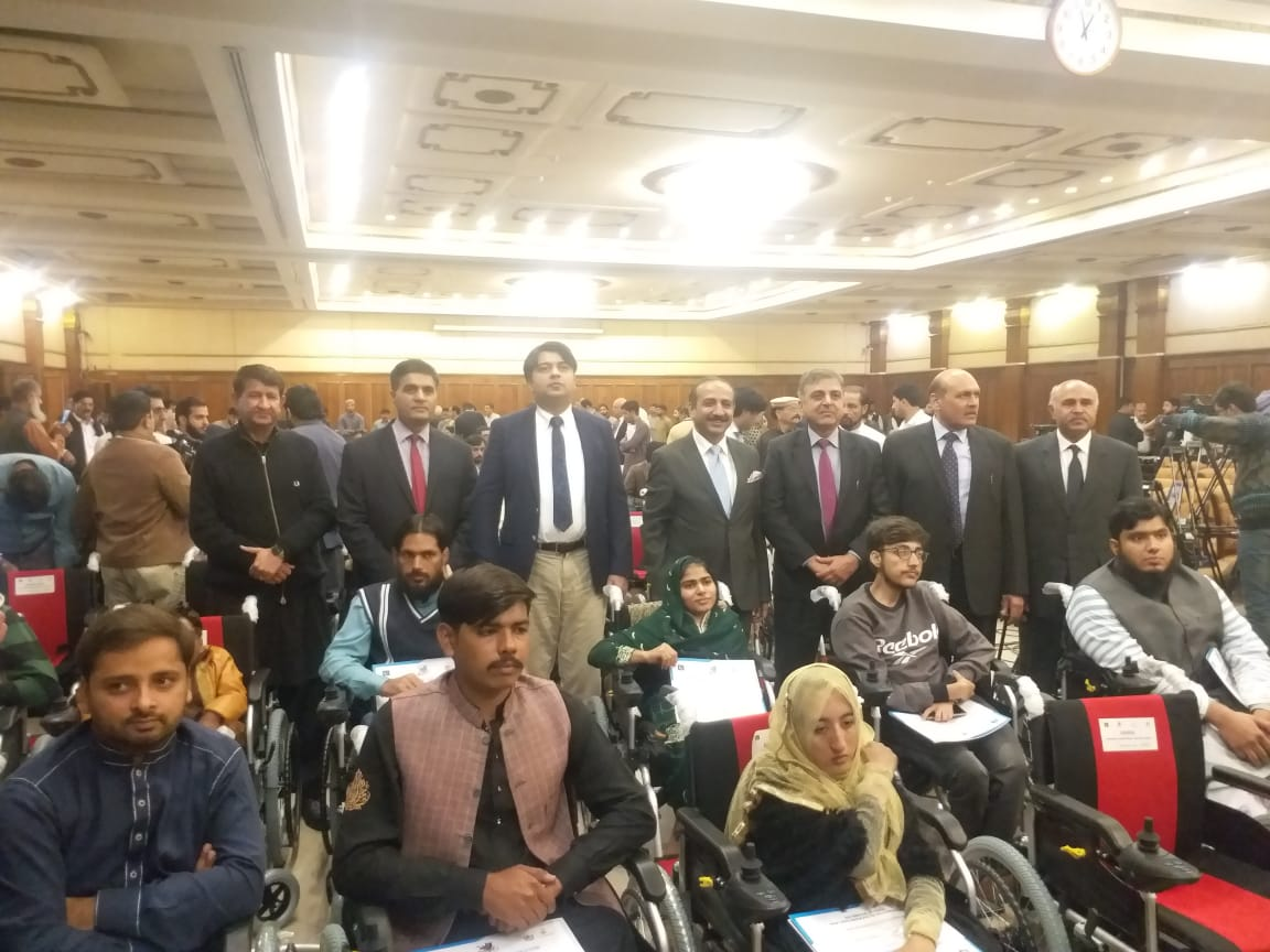 Distribution ceremony organized at Old Chief Minister House, Lahore on 25th November, 2019